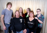 Kershaw Family - March 2013