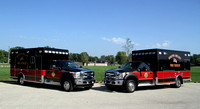 South Beloit FD New Ambulances - August 2013