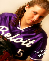Selection of Brittany Senior Portraits - Beloit Memorial HS 2007