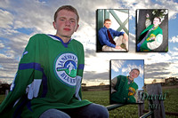 Proofs David Senior Portraits - Janesville Parker 2011