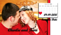Kari and Charlie - Save the Date Magnets